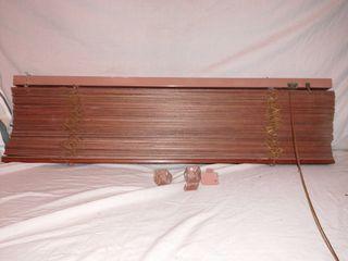 Veneciana persiana madera roble ikea