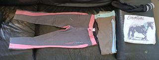 Pantalones hípica T. 10 años