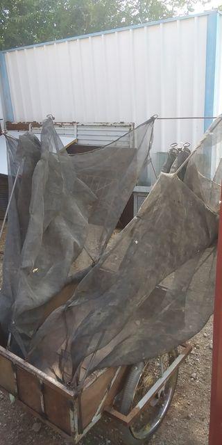 paraguas vibrador recolector