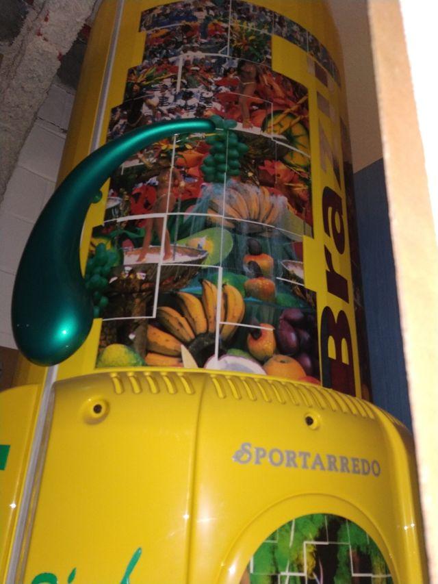 Cabina vertical uva