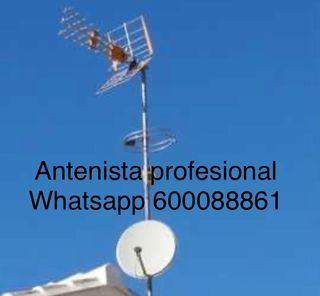 Instalación instalador antenista profesional