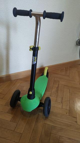 Patinete niño 3 ruedas