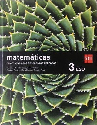 matemáticas aplicadas 3eso ISBN 978-84-675-7621-4
