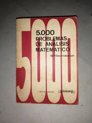 5.000 PROBLEMAS DE ANALISIS MATEMATICO