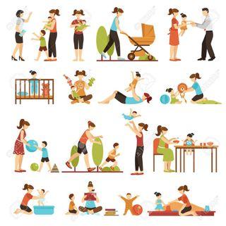 Cuidado de niños/Canguro/ Niñera