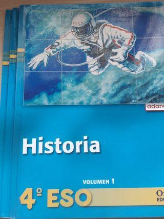 libros historia 4eso