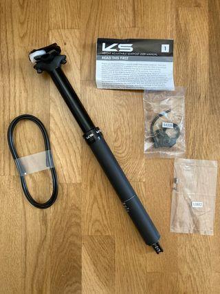 Tija telescópica KS E20i 31.6 125mm a estrenar.