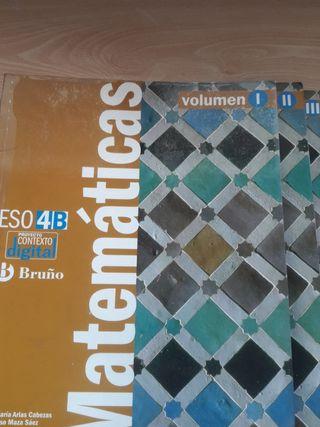 libros mate 4eso