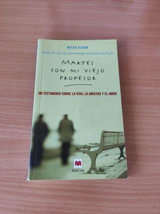 libro martes con lo viejo profesor