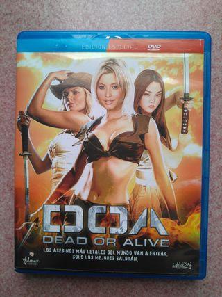 """Película """"DOA Dead or Alive"""""""
