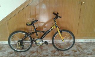 bicicleta de montaña para niño