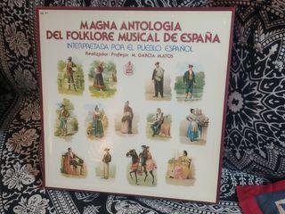 Antología del folklore español COMPLETA. Vinilos