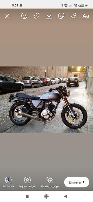 moto Hanway Raw 125 Café Racer