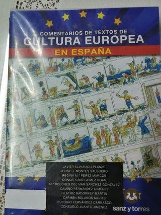 Manual Cultura Europea UNED 1er curso