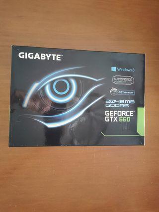 Tarjeta gráfica gtx 660 2gb