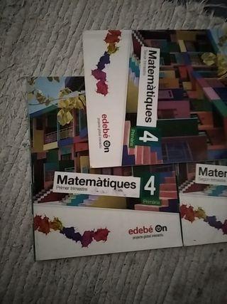 Libros 4 primaria Edebé on