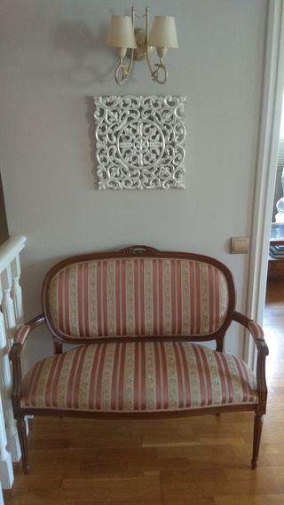 Banco sofá isabelino