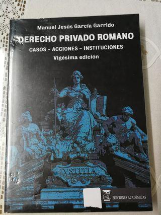 derecho romano 1er curso Derecho uned