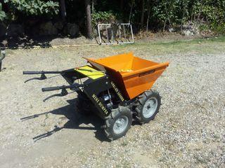 Carretilla Mini dumper 4x4 hasta 250kg de carga