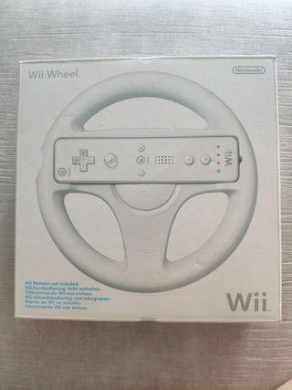 Wii wheel volante original