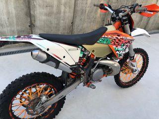Ktm 300 exc 2T six days 2011