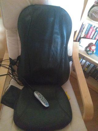 sillón masajeador shiatsu.