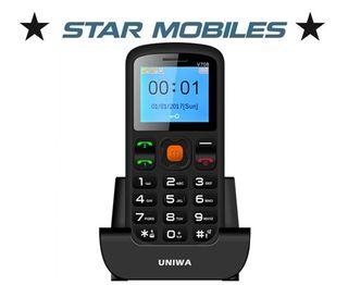 Telefono para mayores uniwa v708 nuevo libre