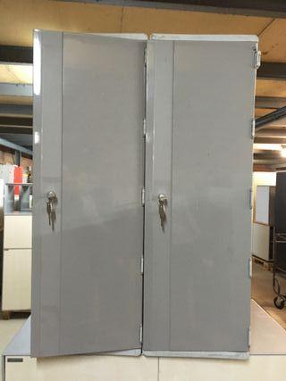 Taquilla de plastico 2 puertas, Ref: 150911