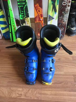 Botas esqui salomon S/Race 130