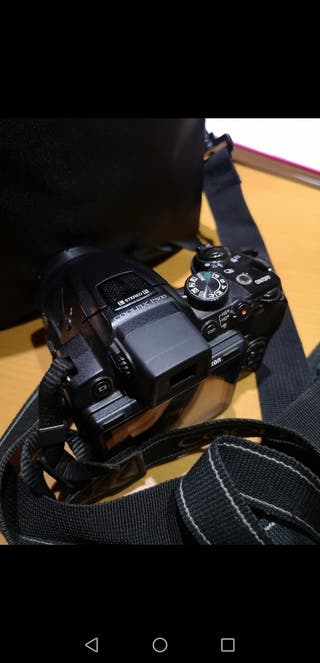 Cámara de fotos reflex profesional Nikon