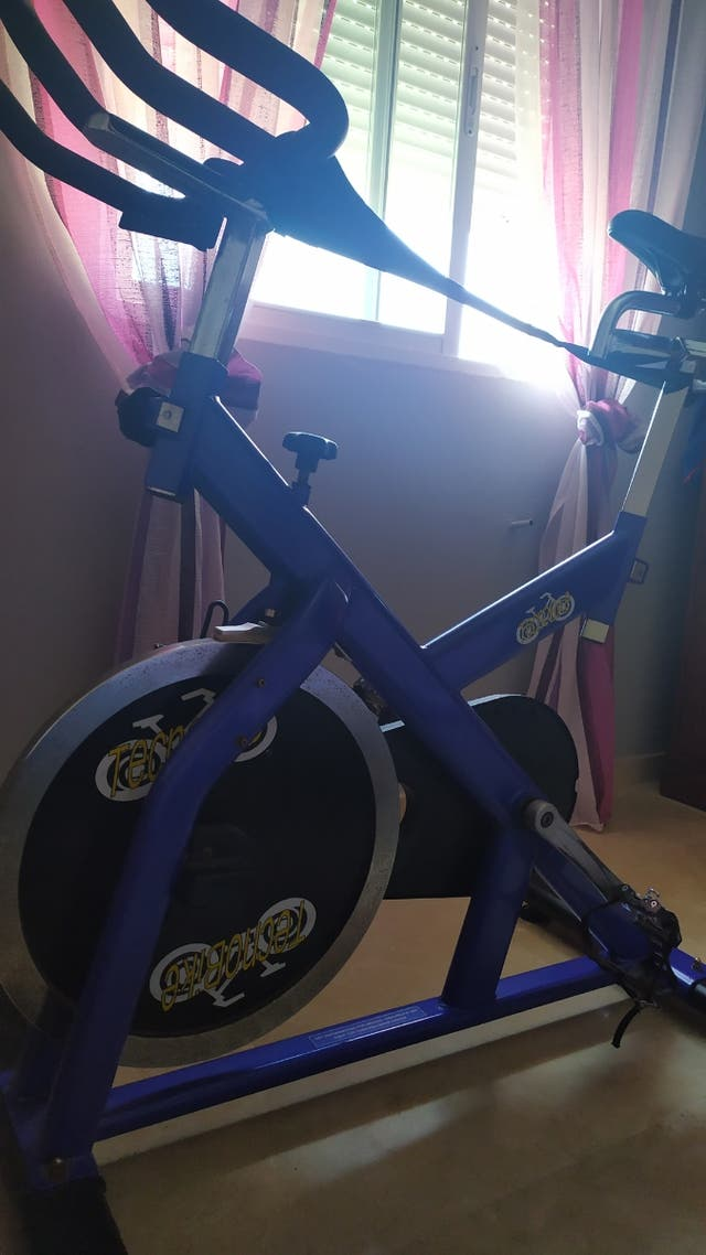 vendo bicicleta de spinning