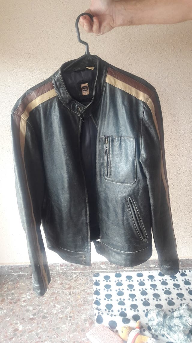 chaqueta motera