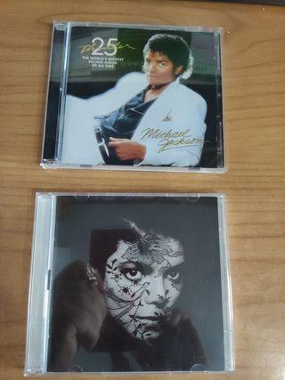 LOTE CDS MICHAEL JACKSON, MADONNA, DAVID BOWIE