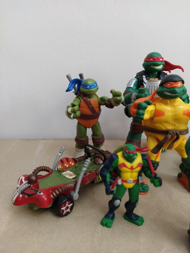 figuras tortugas ninja.