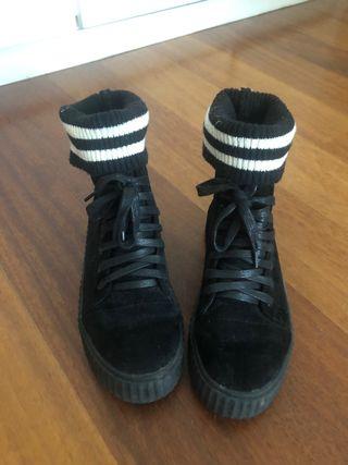 Zapatos tipo vans perfectas para nieve y frío