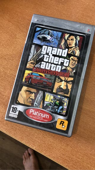 Juego PSP GTA Liberty City Stories