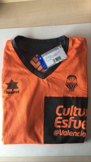 Camiseta Valencia Basket reversible talla M