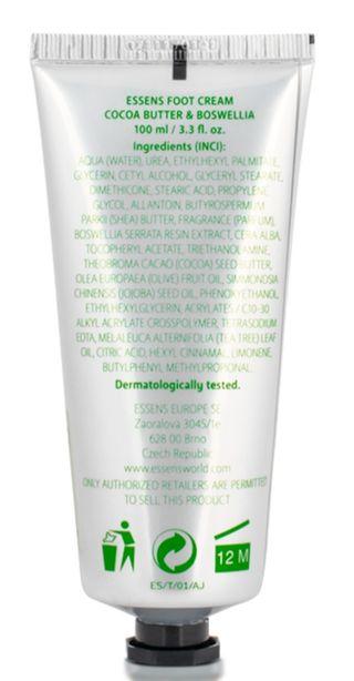 Una crema de pies nutritiva hidrata y regenera