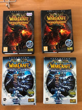 Pack juegos World of Warcraft (WOW)