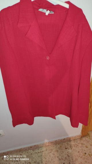 chaqueta en roja