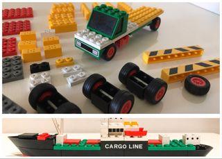 Tente lote 80 piezas aprox.+ carguero. Jose M.R