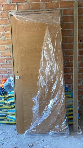 puerta de hogar nueva