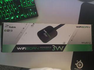 Antena WiFi de 3W + 12 dbi