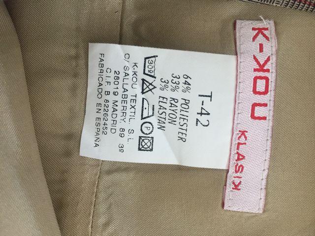 Vestido K-KOU T-42 !! A ESTRENAR !!