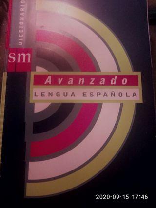diccionario avanzado lengua española