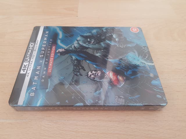 Batman vs Superman Dawn of Justice 4k UHD Blu Ray