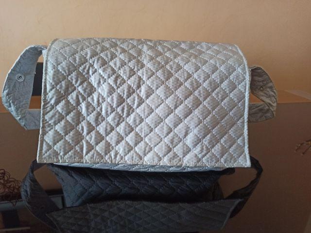 Panera gris clarito para carrito o silla de bebé