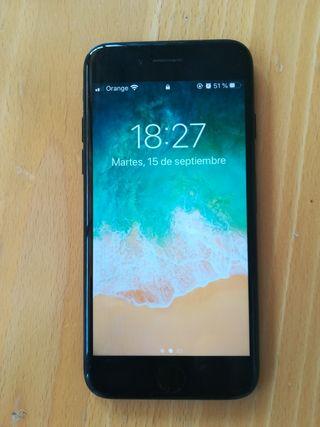 iPhone 7 negro brillante 32 GB