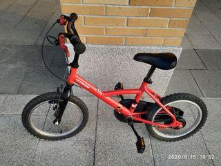 bici niño usada pero en buen estado talla 16''