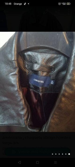para piel caballero Cortefiel talla XL 52